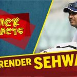 Facts About Virender Sehwag