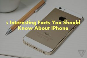 iphone facts