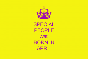 People Born in April