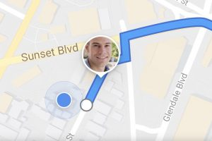 Real Time Location Sharing