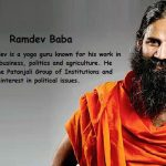 Facts About Ramdev Baba